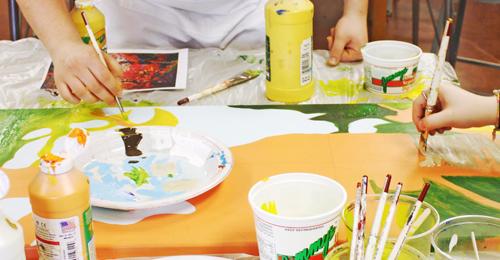 Residency painting