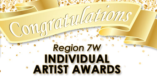 Individual Artist Awards Congratulations