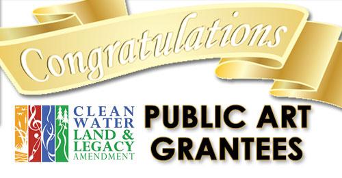 Congrats Public Art Grantees