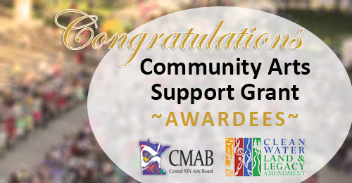 Community Arts Support Awardees